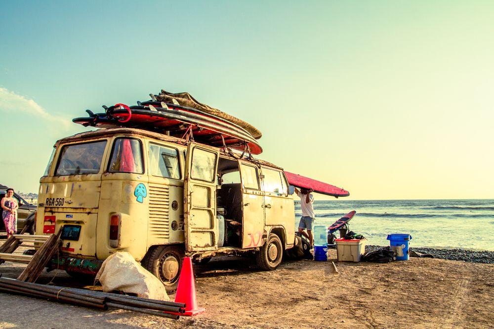noleggio camper california